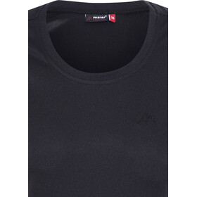 Maier Sports Waltraud T-shirt manches courtes Femme, black